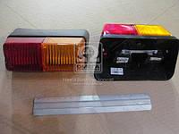 Фонарь МТЗ, ЮМЗ задний правый пластм. корпус (Руслан-Комплект), ФП-209П