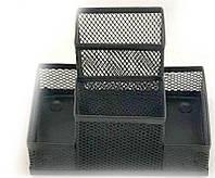 Организатор металлический сетка 4 отд 9003 черный