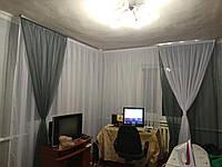 Готовые комплекты штор в спальню в Украине от производителя недорого