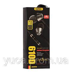 Наушники Remax 610D чёрный копия