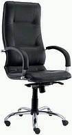 Кресло кожаное для руководителя «Star steel chrome» SP