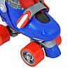 Детские роликовые коньки регулируемые MOCHE 27-30 NIJDAM, фото 4