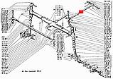 Тяга рулевая продольная Т-25, Д-21 в сборе, фото 3