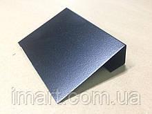 Ценник меловой 4х6 см с подставкой для надписей мелом и маркером черный. Грифельная табличка