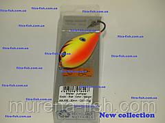 Воблер German Water Jumper- хорватское яйцо C011 50mm (action 0m+) 13g Bumble-lure Popper Поппер, фото 3