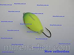 Воблер German Water Jumper- хорватское яйцо C112 50mm (action 0m+) 13g Bumble-lure Popper Поппер, фото 2