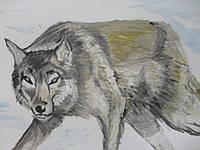 """Картина """"Волк"""", фото 1"""