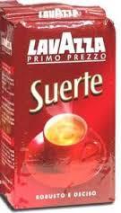 Молотый кофе Lavazza Suerte