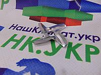 Нож для мясорубки круглый SS-192595 Ø45mm s=4.5mm отв.шестигран. Moulinex,(4515)