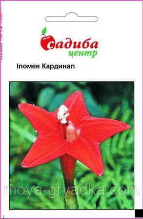 """Насіння квітів Іпомея Кардинал 0,5г ТМ""""Садиба Центр"""""""