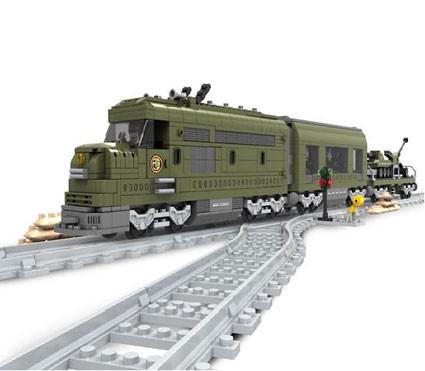 Конструктор AUSINI 25003 Военный поезд