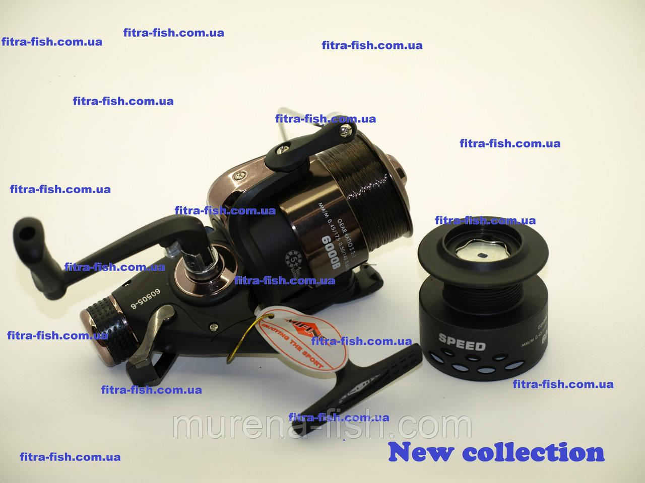 Котушка Mifine Speed 5000B 60505-5 5+1Ball байтранер