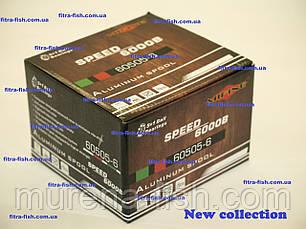 Котушка Mifine Speed 6000B 60505-6 5+1Ball байтранер, фото 3