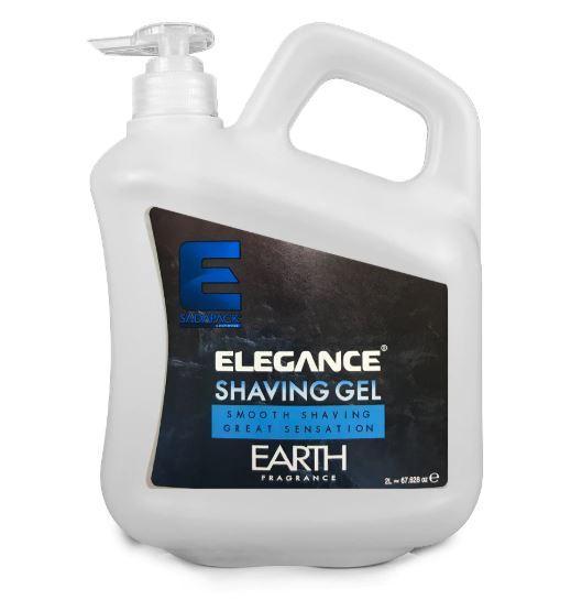 Гель для бритья Elegance Plus Shaving Gel Earth 2л