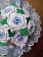 Свадебный букет дублёр невесты (голубой)