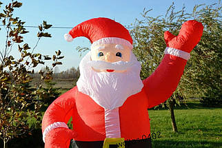 Надувной Санта Клаус 1,8 М , фото 2
