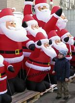 Надувной Санта Клаус 1,8 М , фото 3