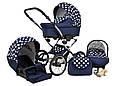 Прогулочная детская коляска MARGARET 3в1, фото 6