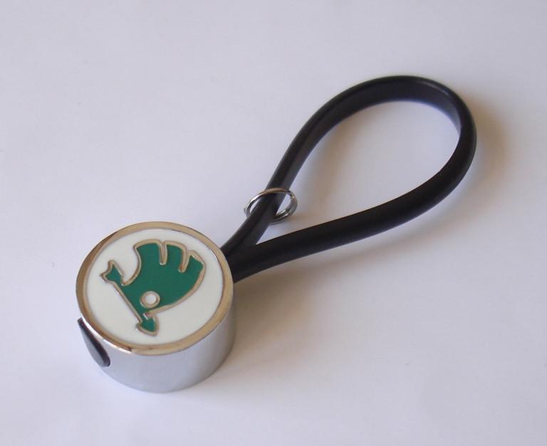 Skoda брелок № 4 для ключей автомобиля с логотипом «Skoda» Шкода Skoda