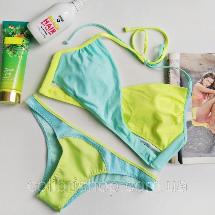 Купальник Victoria's Secret PINK раздельный, оригинал США, фото 1