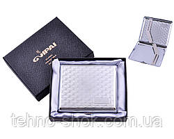 Портсигар классический на 20 сигарет в подарочной коробке 4375-2