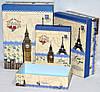 Подарочные коробки в стиле Прованс набор 3шт 34-25-12 см