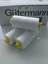 Нитка Gutermann Mara 120/111/1000м / Німеччина, колір молочний