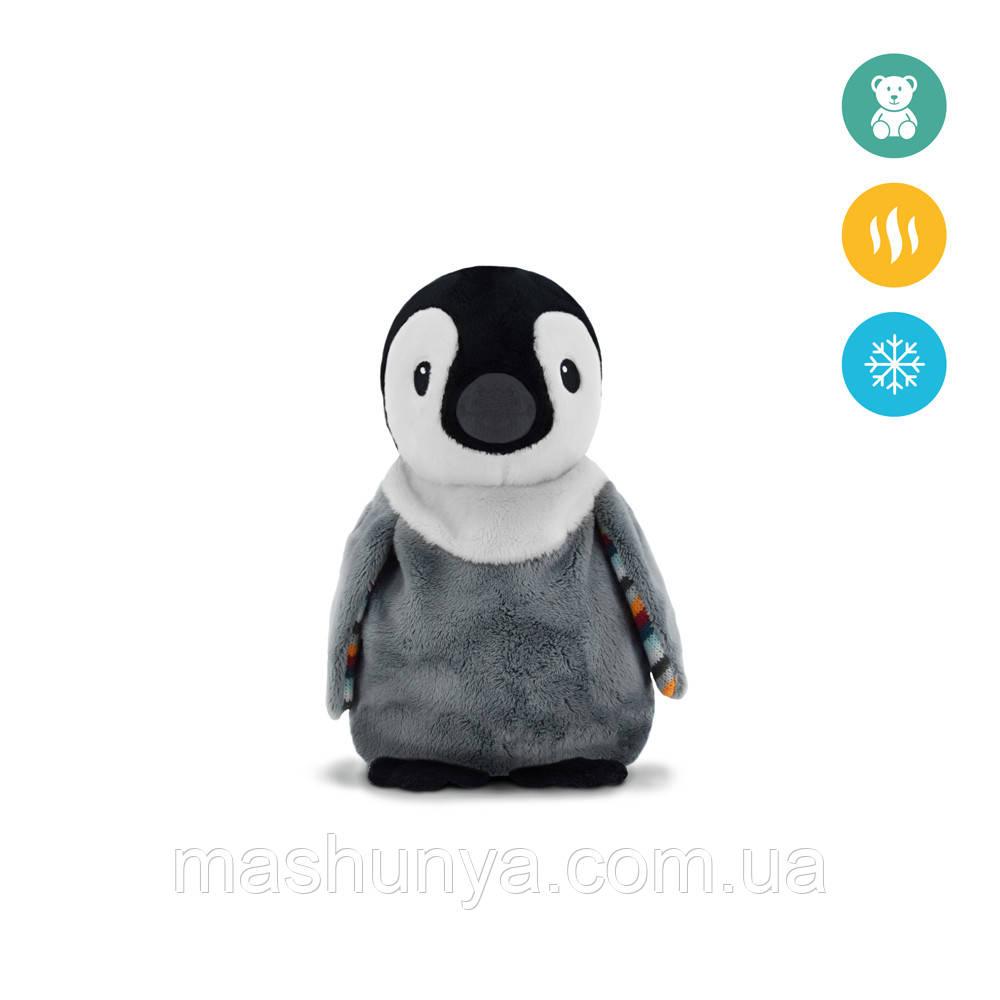 Теплая мягкая игрушка Zazu пингвин Пип с ароматом лаванды