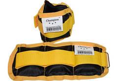 Утяжелители-манжеты для рук и ног (пара по 0,5 кг) 1 кг