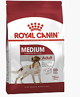 Сухой корм Роял Канин Royal Canin Medium Adult для взрослых собак средних пород 15 кг