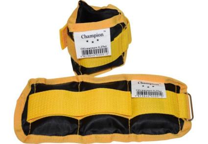 Утяжелители-манжеты для рук и ног (пара по 1,0 кг) 2 кг