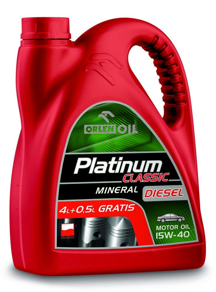 ORLEN Platinum Classic Diesel Mineral 15W-40 4,5л