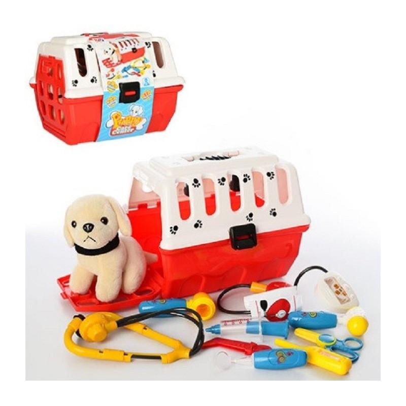 Игровой набор доктор 231 собачка в чемодане