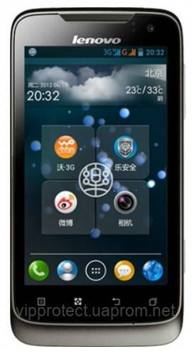 Lenovo A789, глянцевая защитная пленка на телефон