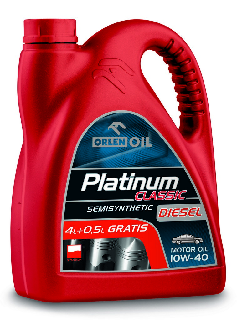 ORLEN Platinum Classic Diesel Semisynthetic 10W-40 4,5л