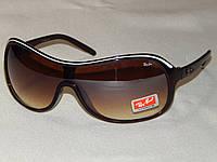 Ray Ban солнцезащитные очки, коричневая маска  810137