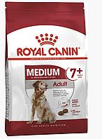 Сухой корм Роял Канин Royal Canin Medium Adult 7+ для собак средних пород старше 7 лет 4 кг
