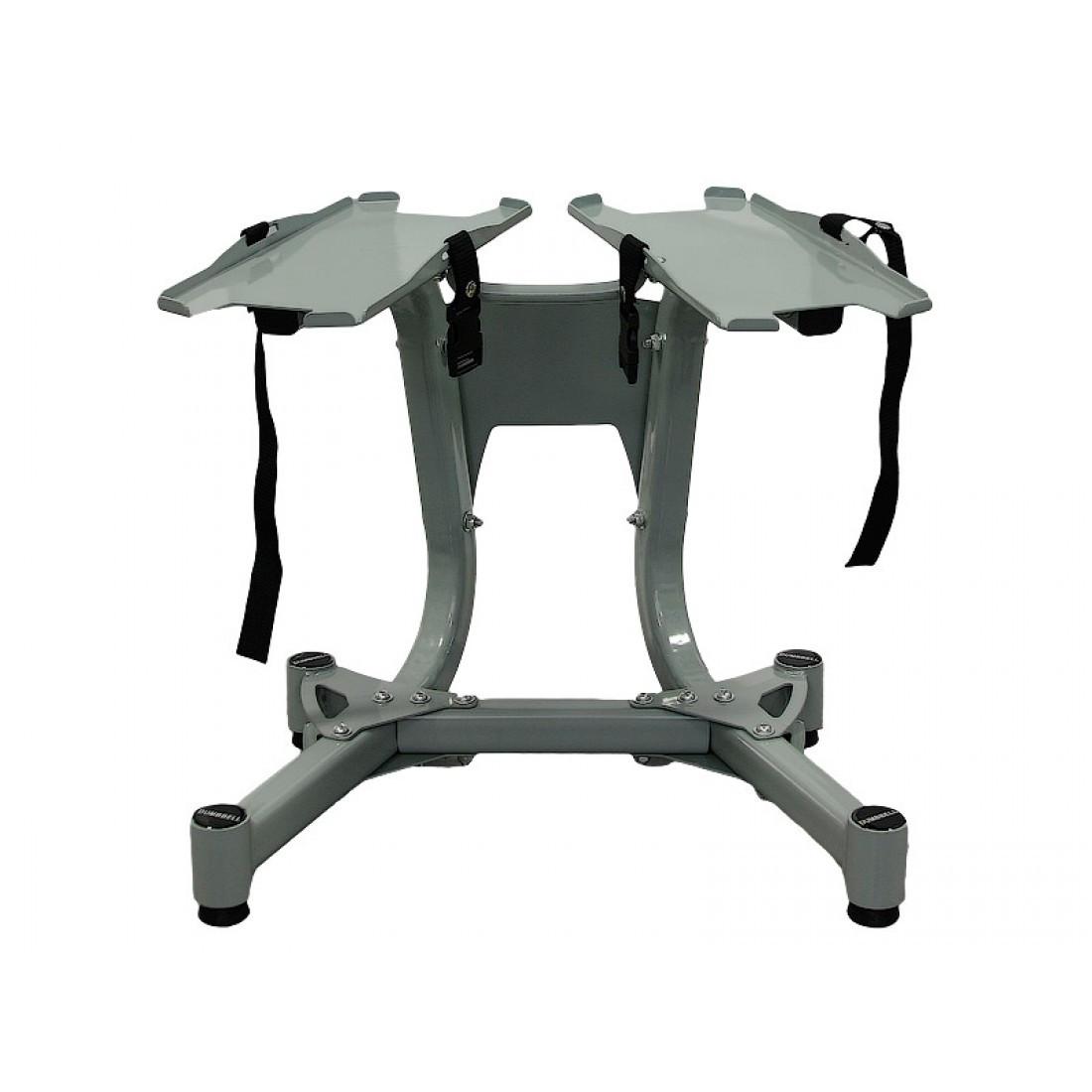 Мобильная подставка под гантели с регулируемым весом LiveUp Adjustable Dumbbell Rack, LS1920