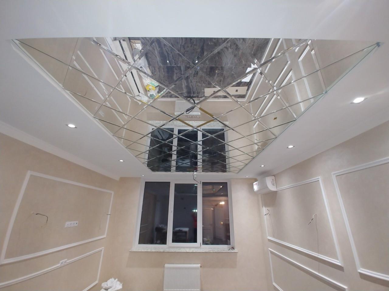 потолок зеркало фото капуста