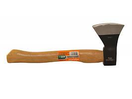 Топор кованый, рукоятка деревянная, бук, 600г 2140101