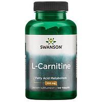 L-карнитин 500 мг 100 таблеток США