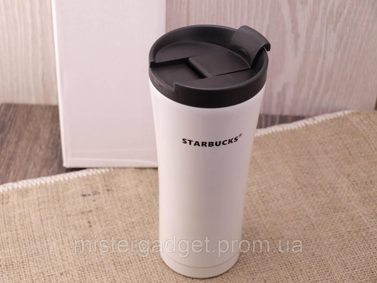 Термочашка Starbucks 450мл Металлическая кружка Старбакс