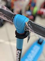 Трехколесный самокат детский Scooter Tamax - Голубой, фото 3
