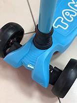 Трехколесный самокат детский Scooter Tamax - Голубой, фото 2