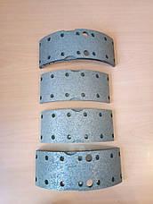 Гальмівні накладки Е-1 49-12 ш.80мм (Ремонт 1) IVECO 1906381, фото 3