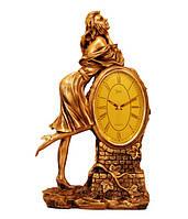 "Каминные часы ""Девушка"" Jibo 6302 R, 44см"
