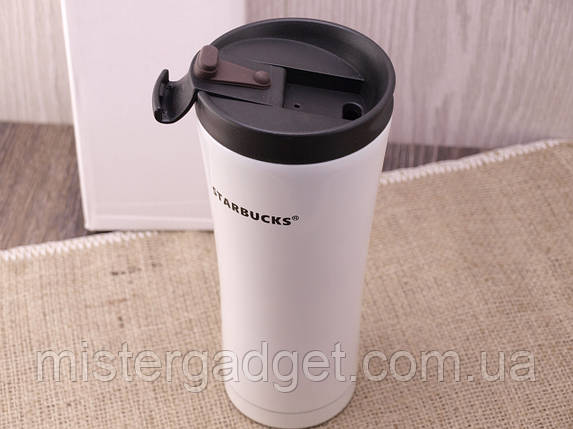 Термочашка Starbucks 450мл Металлическая кружка Старбакс, фото 2