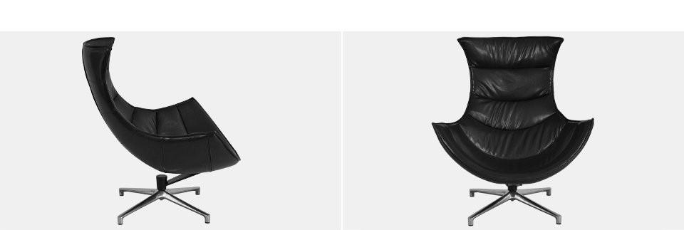 Дизайнерское офисное кресло Verona Чорное и Белое