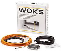 Нагревательный двухжильный кабель Woks-17 / 325 Вт