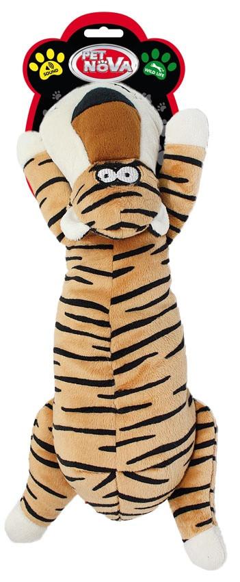 Іграшка для собак Тигр Pet Nova 36 см